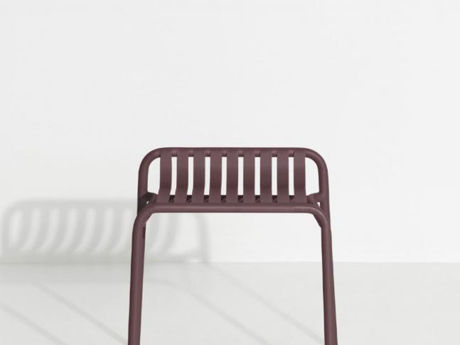 Nízká zahradní stolička WEEK-END