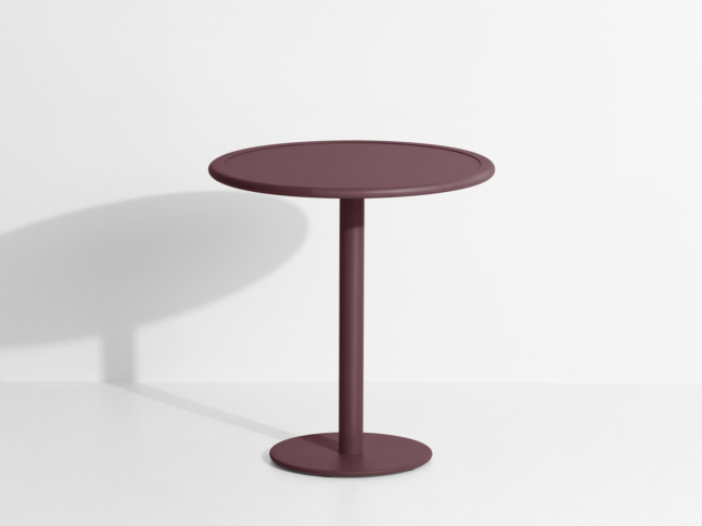 Kulatý zahradní stolek WEEK-END