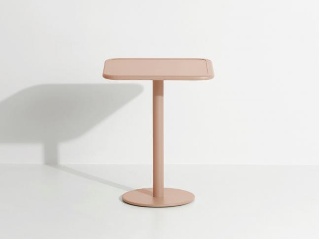 Čtvercový zahradní stolek WEEK-END