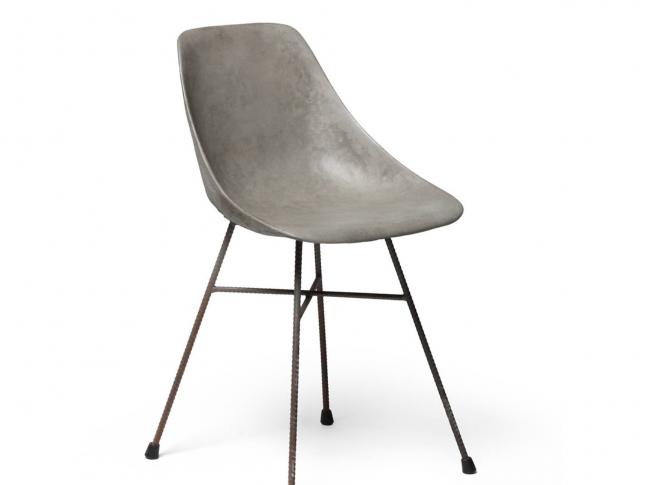 Lyon Beton židle Hauteville