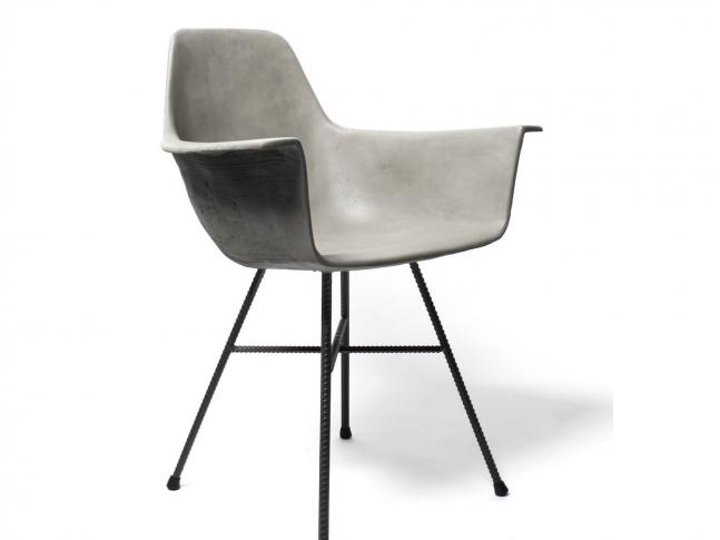 Lyon Beton židle Hauteville Armchair