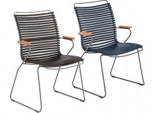 Židle Click s vysokými zady