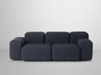 Soft Blocks Sofa soft_blocks_2seater_graphite_grey