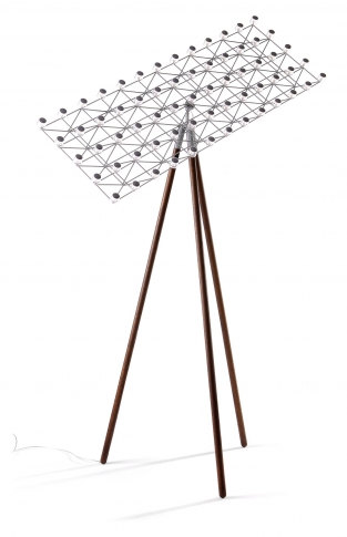 Space-Frame Floor Lamp