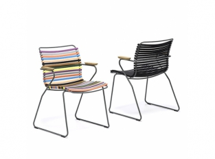 Židle s područkami Houe Click
