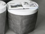 LOOOOX betonový stolek s bílým víkem