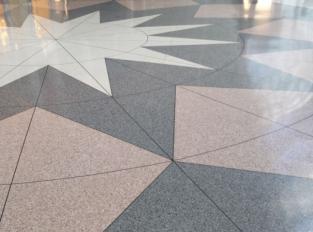 Lité terrazzo podlahy Pavilux