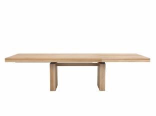 Ethnicraft - rozkládací stůl Double