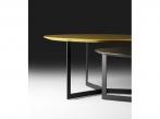 Kabi Coffee Table Ocre and black