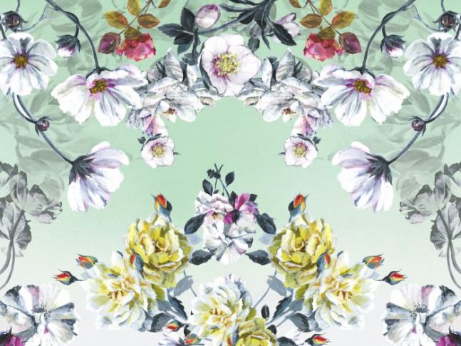 Couture Rose Fuchsia Rug