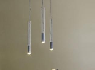 Závěsná lampa Turbo LED