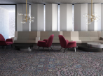 Koberce Freestile - Tunis Kobercové čtverce s inovativním designem Tunis od Object Carpet, barva 0501.
