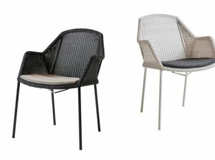 Židle s područkami Cane-Line Breeze Armchair