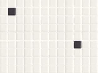 Bílo-černá mozaika Appiani