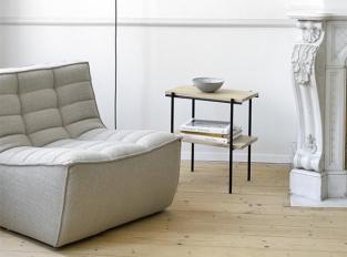 Odkládací stolek Ethnicraft Rise Side Table