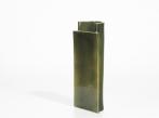 Keramická váza Blocks velká Vase Large D Shape Green