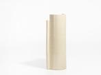 Keramická váza Blocks velká Vase Large D Shape Nude