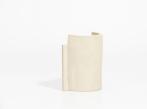 Keramická váza Blocks malá Vase Small  D Shape Nude III