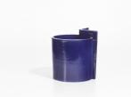Keramická váza Blocks malá Vase Small O Shape Blue II