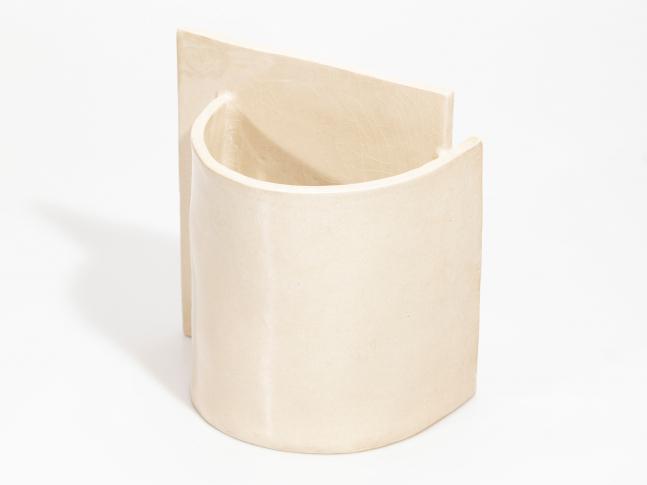 Keramická váza Blocks malá Vase Small  P Shape Nude III_na šírku