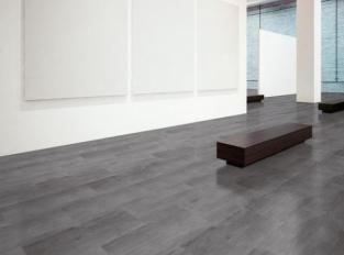 Vinylová podlaha - design ocelový plát