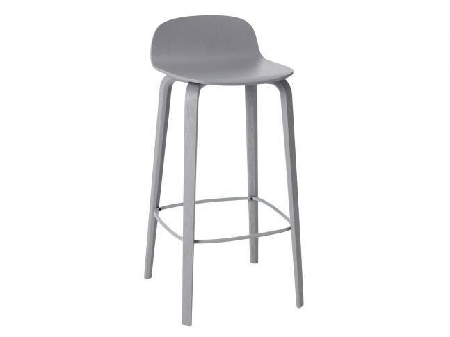 Barová židle Visu od Muuto visu_barstool_seda