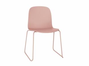 Židle Muuto Visu s kovovou podnoží