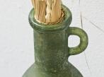 LOOOOX váza zelené matné sklo s uchy L VZ_0170_0171_TI_detail