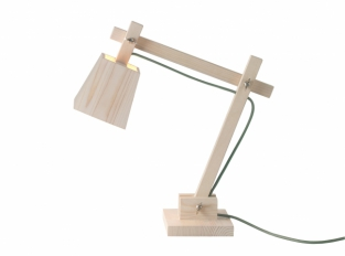 Stolní lampa Woodlamp od Muuto
