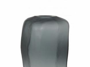 LOOOOX hranatá váza sklo M