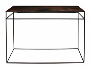 Konzolový stolek Bronz Copper Leaf