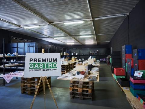 Premium Gastro Část showroomu - Praha-Uhříněves
