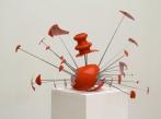 Drdova Gallery Pavla Scerankova, Either Or, 2010, broken lamp, radio antennas